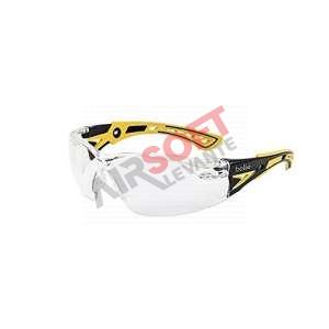 Gafas Bollé Rush+ Transparente Patilla Colores Amarillo